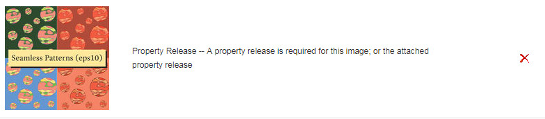 Property Release -- A property release is required for this image; or the attached property release